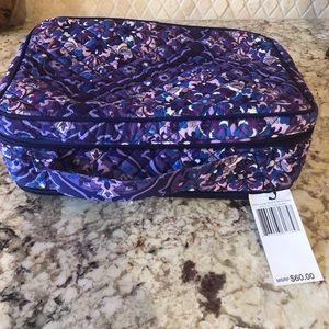 NWT Vera Bradley large iconic brush and blush bag